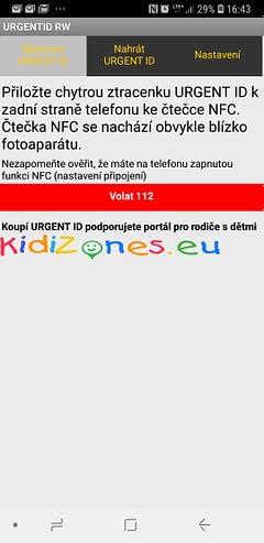 URGENT ID 3.0 - čtení start